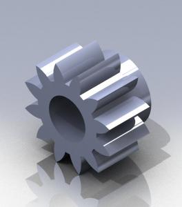 modely 3D ozubené koleso
