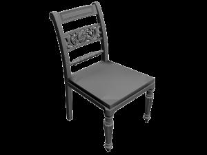 modely 3D stolička